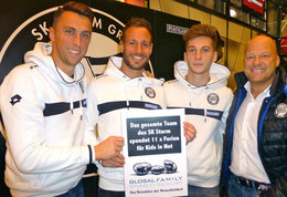Sk Sturm Graz wird Fc Global Kickers Partner