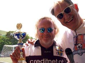 Gregor Seberg mit Präsident Karl Auer